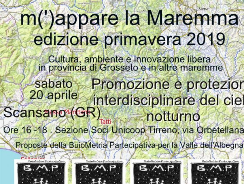 Let's go to map Maremma