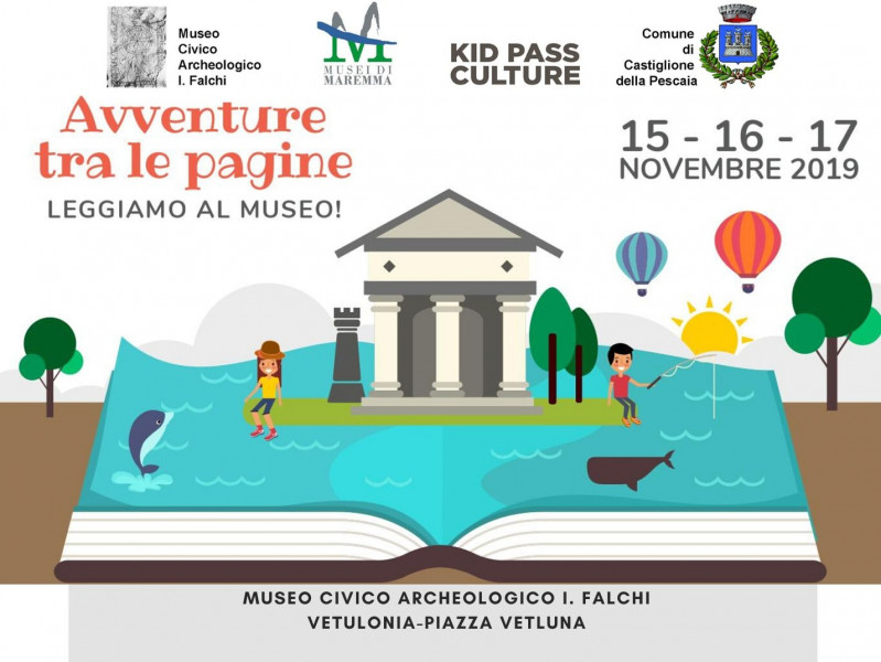 Adventures among pages: let's go to read at the museum