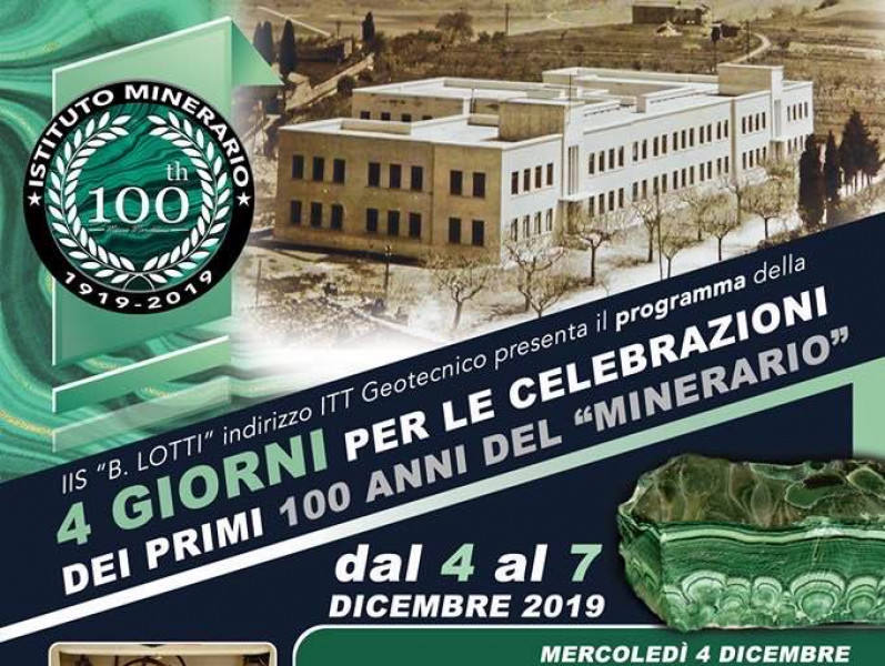 "Celebration of the first 100 years of the ""mining"""