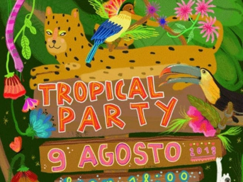 Tropical Party alla Cantoniera