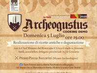 Archeogustus: cooking demo